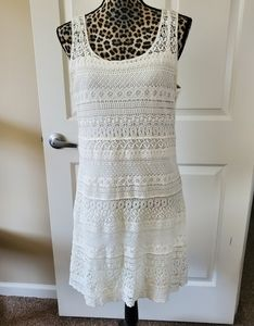 Solitaire Crochet Tank Dress